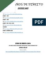 1300 LIVROS DE DIREITO - Diversos anos.pdf