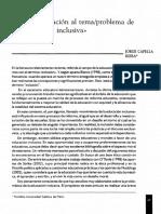 Articulo Dialnet-Una Aproximaciòn Al Tema Problema de La Educaciòn Inclusiva