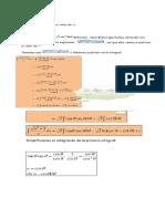 Integrales Por Sustitucion Trigonometrica Copiar PASASSSDS