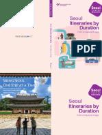 Seoul Travel Itineraries 100