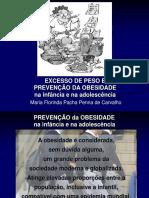 Prevenção de Obesidade 2012