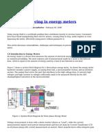 Prevent Tampering in Energy Meters