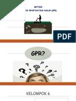 Metode GPR (Grand Penetrating Radar) Geofisika