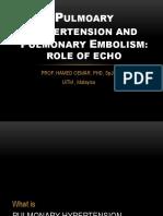 04-Role of Echo in Pulm Hypertion n Embolism