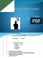 Nursing Advocacy Iik