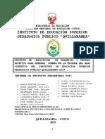 Proyecto Productivo Jaime Felix 19 Maranura. Proyecto
