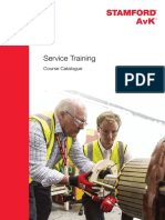 Service Training Catalogue
