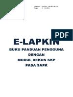 E-Lapkin (Guide Book) - Modul Baru SAPK Baru