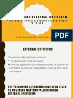 Lesson 1_External and Internal Criticism