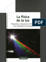 La física de la luz