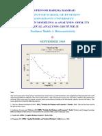 Residual Analysis Section 2 RM&a Nonlinear Heteroscadasticity September 2019