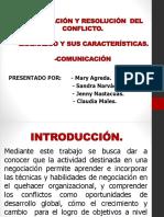 Negociación y Resolución Del Conflicto
