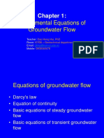 Chapter 2 _ Darcys Law and Equations of Groundwater Flow in Aquifers