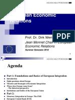 European Economic Relations Vorlesung SS 2016