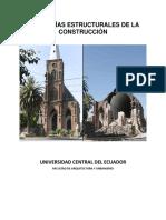 Patologías Estructurales de La Construcción Marco Conceptual