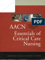 AACN-Essentials of Critical Care Nursing - 1st Edition