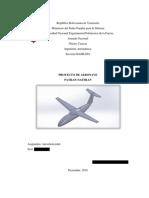 Análisis de Elementos Finitos de un modelo básico de aeronave en Patran-Nastran