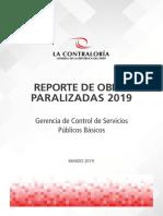 Reporte Obras Paralizadas