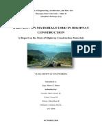 highway technical report