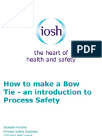How to Make a Bow Tie an Introduction to Process Safety
