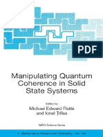 Michael E. Flatté, Ionel Tifrea - Manipulating quantum coherence in solid state systems.pdf