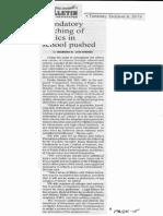 Manila Bulletin, Oct. 8, 2019, Mandatory teaching of Ethics in school pushed.pdf