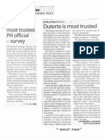 Manila Times, Oct. 8, 2019, Duterte most trusted PH official- survey.pdf