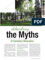 American Cemetery Article- Debunking the Myth- March 2014