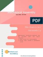 Mechanical Assembly Mutia Afifah - I0317059