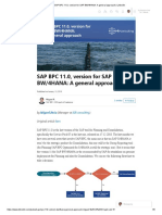 SAP BPC 11.0, Version for SAP BW_4HANA_ a General Approach _ LinkedIn