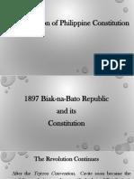 Ppt for Biak Na Bato Constitution