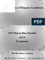 Ppt for Biak Na Bato Constitution