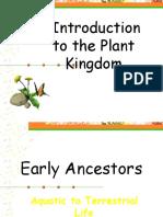 introduction of plant kingdom