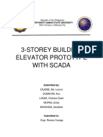 3-Storey Building Elevator Prototype with Scada