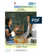 FM Module 2 Interpersonal Communication