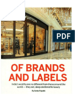 The Luxury of Brands and Labels