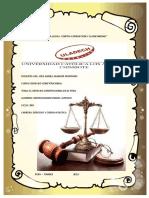 El Derecho Constitucional en El Perú
