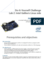 IntelAcademic IoT Lab 02 Linux Side