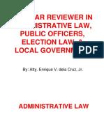 admin law 2018 by enrique dela cruz