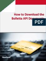 Bolletta API Download v2
