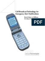 Cell Broadcast System