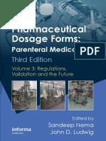 Pharmaceutical Dosage Forms - Parenteral Medications (Volume 3)
