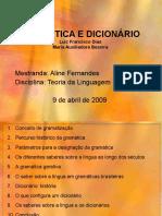 GRAMÁTICA E DICIONÁRIO