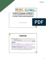 Apbdes - 02. Konsep Pengelolaan Keuangan Desa - 2016
