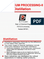 Petroleum II Distillation