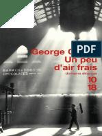 Orwell George - Un Peu d'Air Frais