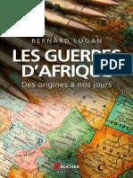 Lugan Bernard - Les Guerres d'Afrique