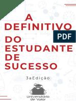 Guia Definitivo Do Estudante de Sucesso 3ª Ed.