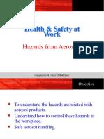 Aerosol Safety
