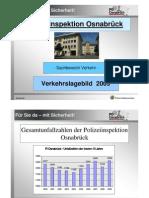 Unfallstatistik 2009 Osnabrück. vustat2009
